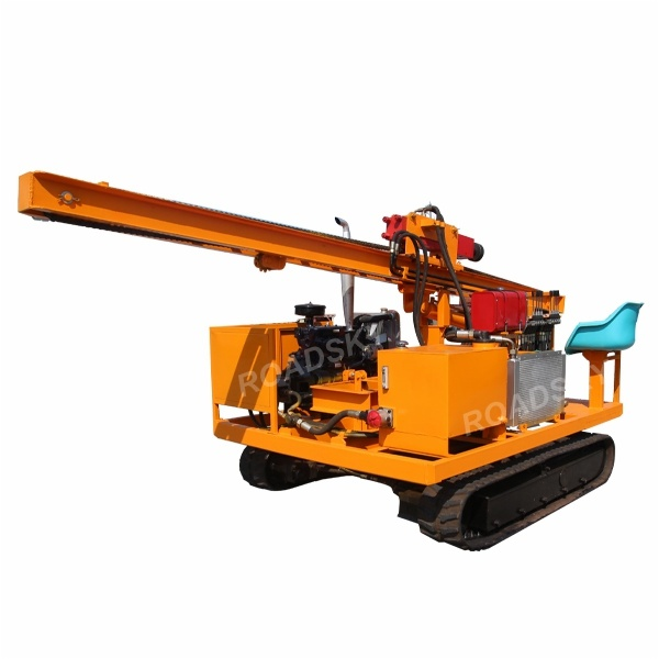 Tracked Mounted Hydraulic Solar Pile Driver Roadsky